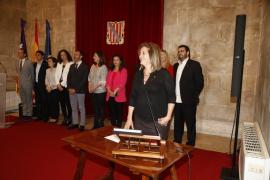 Fanny Tur toma posesión como consellera de Cultura, Participación y Deportes
