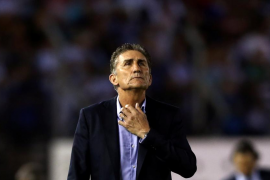 Bauza, despedido como seleccionador de Argentina