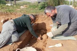 Encuentran una necrópolis de la época bizantina en Formentera