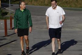 Rajoy vuelve a 'andar deprisa' por una de sus rutas predilectas