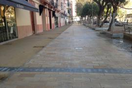 El paseo Vara de Rey abre de manera parcial mientras terminan las obras de la zona central