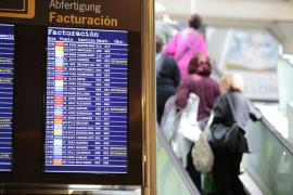 Detenidos los despegues desde Mallorca por un problema en el sistema de la torre de control del aeropuerto