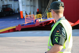 La Guardia Civil realizó 837 actuaciones en puertos deportivos de Baleares durante 2016