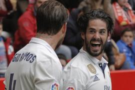 Isco, en el 90, le evita un problema al Real Madrid