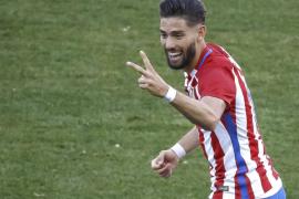 El Atlético de Madrid golea sin complicaciones al Osasuna