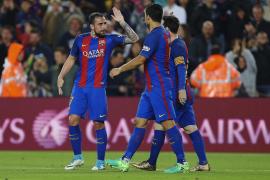 El Barcelona consigue los tres puntos antes de visitar el Bernabéu