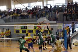 El Ushuaïa Ibiza Voley cae contra el Unicaja Almería