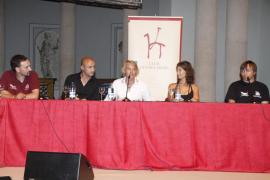 Xisco Gràcia participó junto a Jesús Calleja en una conferencia del Club Ultima Hora