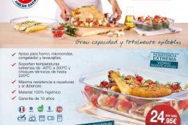 ¡Consigue un set de tres fuentes de horno de Pyrex con Periódico de Ibiza y Formentera!