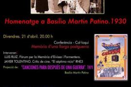 Emilio Gutiérrez Caba, protagonista en las jornadas de memoria histórica en homenaje a Martín Patino de Sant Josep