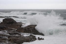 El viento y el oleaje fuerte serán protagonistas este jueves en Baleares