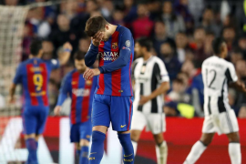 La Juve, a semifinales, tras empatar en el Camp Nou