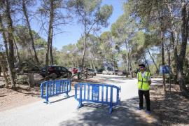 Sant Antoni realiza un dispositivo contra la venta ambulante en Cala Salada