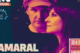El pop-rock de Amaral suena en el Mallorca Live Festival 2017