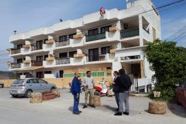 Cortan la luz a los inquilinos de Ses Roques, pendientes de desahucio