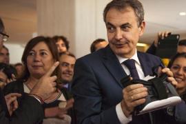 Zapatero subraya la visión de la «España plural» de Susana Díaz