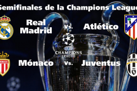 Real Madrid-Atlético de Madrid, duelo español en semifinales de la Liga de Campeones