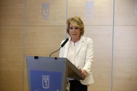 Esperanza Aguirre dimite como portavoz en el Ayuntamiento de Madrid