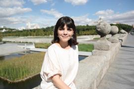 La actriz Agnès Llobet