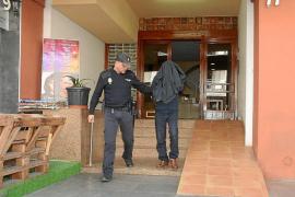 El autor confeso del asesinato de ses Figueretes reconstruye los hechos
