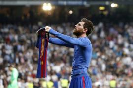 Tebas cree que la celebración de Messi en el Clásico «no incitó a la violencia»
