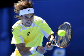 David Ferrer pasa a cuartos en el Open de Australia