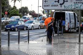 Los empleados de Valoriza denuncian la falta de personal y de medios en la limpieza de Vila