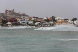 Ibiza y Formentera, en riesgo por fenómenos costeros