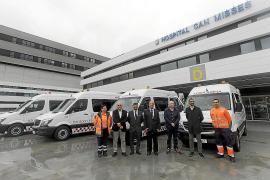 Las Pitiusas disponen de 14 nuevas ambulancias que mejoran los traslados