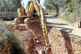 Inca ya ha iniciado los trabajos para conectarse a la red de agua desalada y de sa Marineta.
