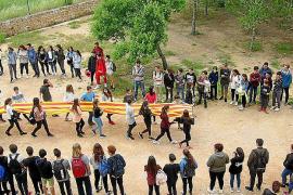 El instituto de Sant Agustí, unido por la lengua catalana
