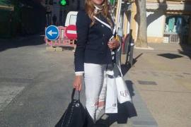 Ana García Obregón llega a Ibiza para el posado del verano