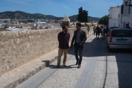 Presentación de los arreglos de la calle Antoni Costa Ramon en Vila