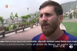 Un iraní y Messi, como dos gotas de agua