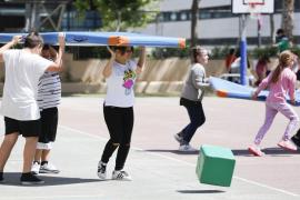 Actividades en el colegio Can Misses (Fotos: Arguiñe Escandón).
