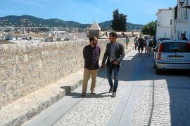Acaban las obras de remodelación de la ronda Antoni Costa Ramon de Dalt Vila