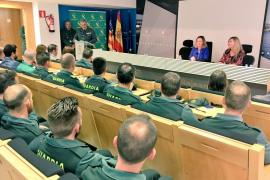 La Guardia Civil ha incautado en Baleares más de 100.000 productos falsos en tres años
