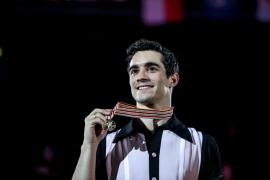 Javier Fernández: «Mi nivel no tiene nada que ver con el de los otros patinadores»