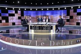 Macron arrasa entre los votantes en el último debate de cara a las elecciones al Elíseo