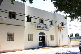 El retén de la Policía Local de Sant Antoni cuenta con cuatro nuevos auxiliares administrativos