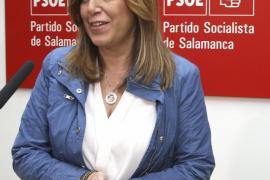 Susana Díaz se reunirá mañana con militantes y simpatizantes en Ibiza