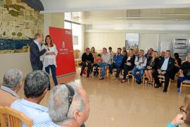 Susana Díaz sólo despierta interés entre el sector crítico del PSOE ibicenco