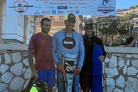 Dani Sánchez conquista el Downwind Race de Jávea