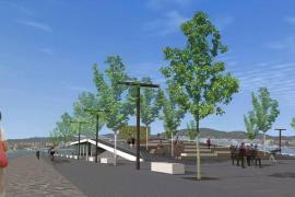 Vecinos y comerciantes proponen que la nueva plaza del puerto se llame Juan Tur Ramis