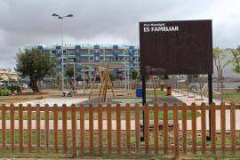 Santa Eulària abre un nuevo parque infantil en Santa Gertrudis y mejora el de 'Es Fameliar'