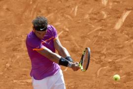 Rafael Nadal supera un choque complicado ante Fabio Fognini en su debut en Madrid