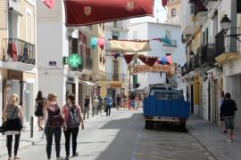Dalt Vila se prepara para acoger la feria Eivissa Medieval
