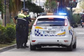 Detenido en Sant Antoni un hombre por tentativa de robo con violencia y atentado contra la autoridad