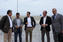 Las obras del puerto de la Savina concluirán antes del 31 de mayo
