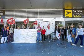 La empresa de limpieza del aeropuerto presenta concurso de acreedores
